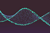 DNA,conceptual illustration