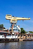 Dockside crane.
