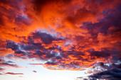 Sunset over the Eden Valley, Cumbria, UK