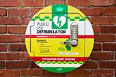 Public use defibrillator, UK