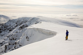 Dollywagon Pike from Helvellyn, Lake District, UK