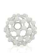 Fullerene molecule, illustration
