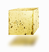 Gold nugget cube