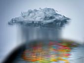 Global weather, conceptual image