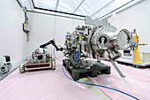 Robotic High Irradiation to Materials experiment at CERN