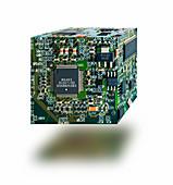Circuit board cube