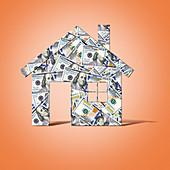 Housing market, conceptual image
