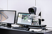 Dual optical video measuring system
