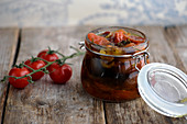 Pickled confit tomatoes