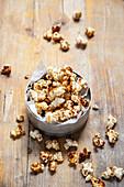 Selbstgemachtes Karamel-Popcorn