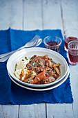 Oxtail shiraz stew