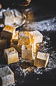 Turmeric and honey marshmallows