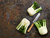 Raw fennel