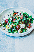 Quick lentil salad with feta