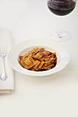 Agnolotti with gravy