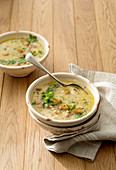 Asturian chestnut soup