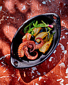 Octopus with fennel