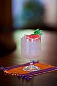 Gourmet grapefruit cocktail