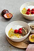 Porridge With PassionFruit