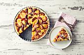 Pflaumenkuchen mit Mandelcreme