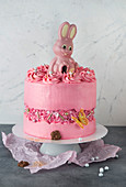Crystal cake for Easter