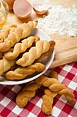 Koulouraki – Greek biscuits