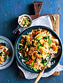 Thai basil and chilli chicken with cashews