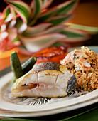 Brazilian fish plate
