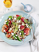 Beetroot salad with feta