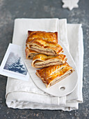 Poultry and truffle pasty