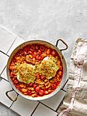 Baked Beans mit Kabeljau