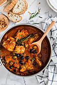 Chicken Cacciatora (Italy)