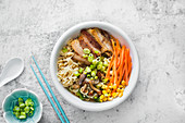 Miso ramen with pork belly (Asia)