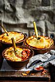 Fennel shank pies