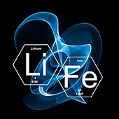 Chemical elements and life, illustration