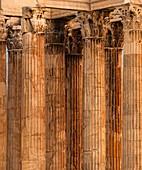 Temple of Olympian Zeus, columns.