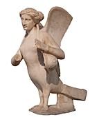 Funerary Siren statue