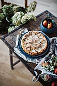 Autumn pear cake
