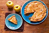 Prepare American Style Apple Pie