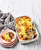Turkey and Kale lasagne (Low Carb)