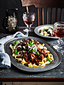 Lamb and fennel ragù (Slow cooker)