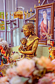 Mae Nak shrine, Wat Mahabut in Phra Kanong, Bangkok, Thailand