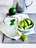 Cucumber, Lime and Coconut Water