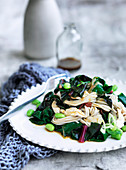 One-Pot Poached Chicken with Soba Noodles