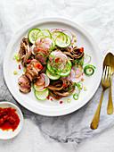 Asian Pork Noodle Salad