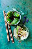 Stuffed figs in rum