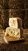 Formaggio di fossa (cheese made from sheep and cow milk, Italy)