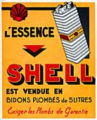Shell fuel, illustration