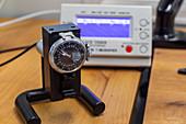 Antique watch restoration tests