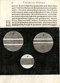 Jupiter from Huygens's 'Systema Saturnium' (1655)